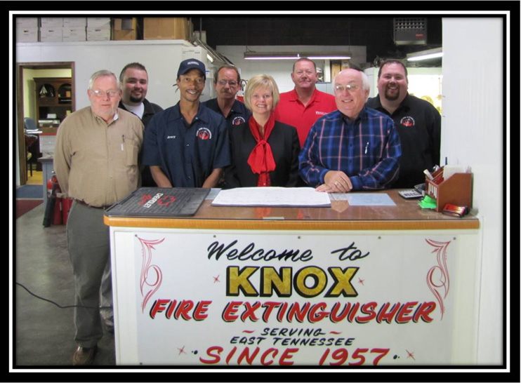 Knox Fire Extinguisher Co. | Knoxville Commercial Fire ...